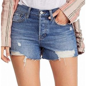 NWT Free People Sofia Cutoff Denim Shorts 28